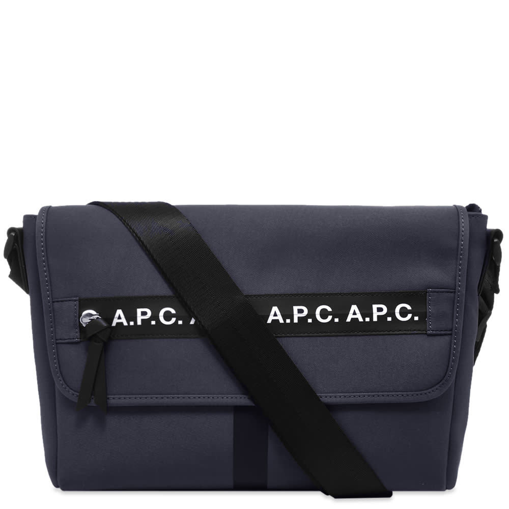Photo: A.P.C. Taped Seam Messenger Bag
