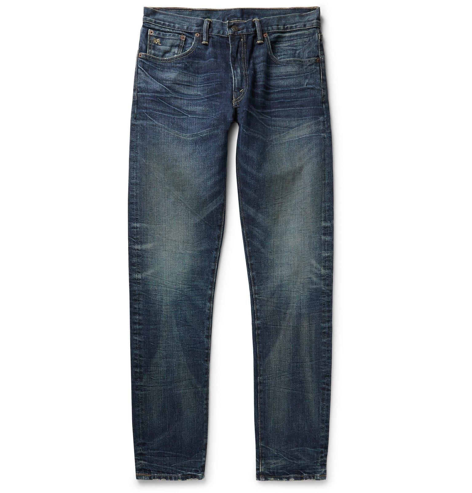 RRL - Slim-Fit Denim Jeans - Blue