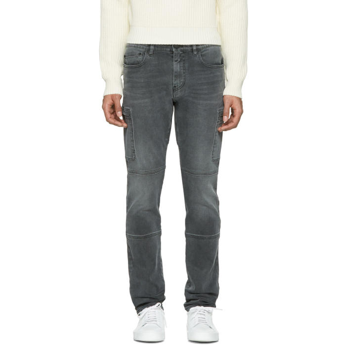 Belstaff Grey Washed Blackwell Jeans