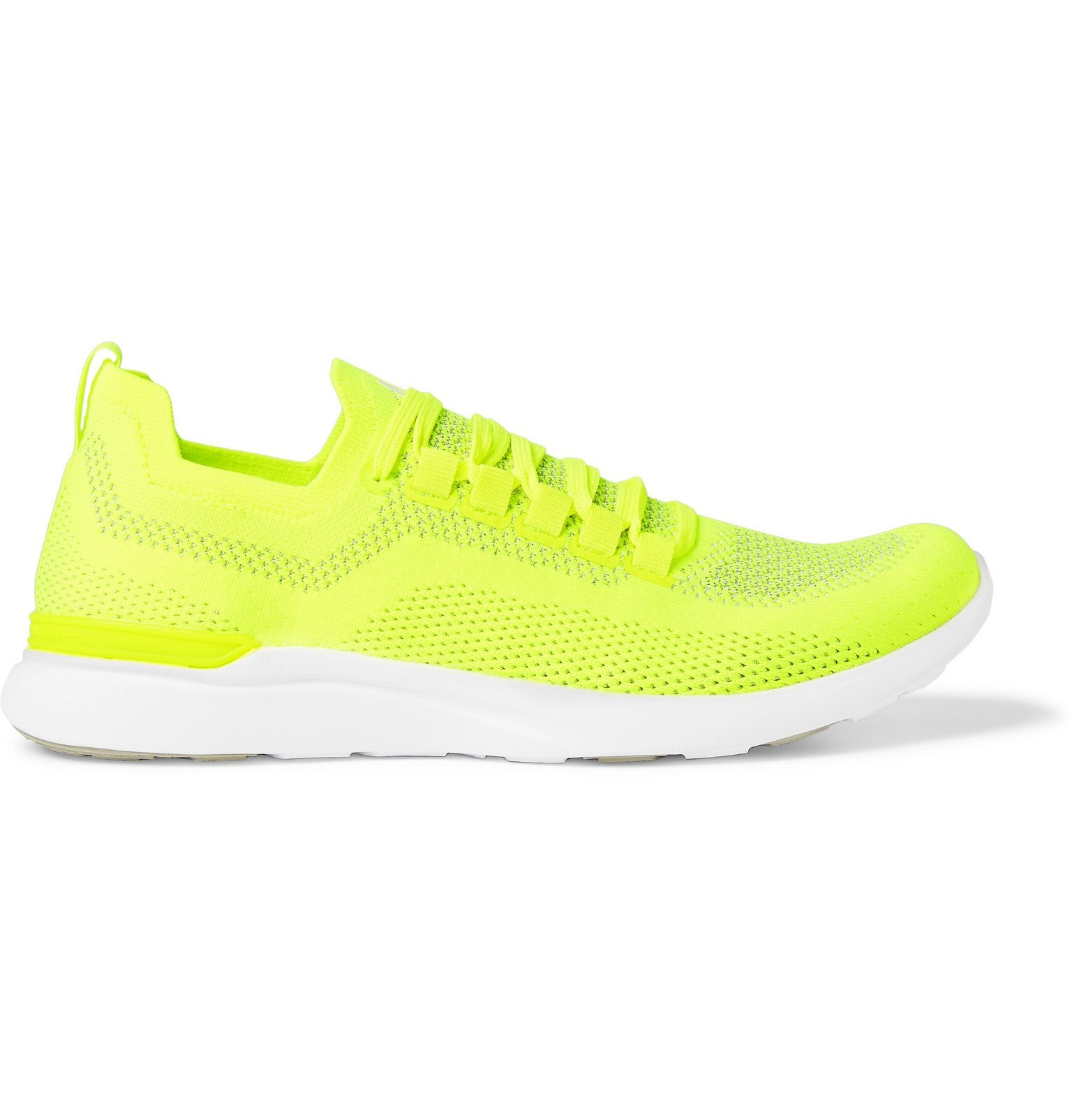 Photo: APL Athletic Propulsion Labs - TechLoom Breeze Running Sneakers - Yellow