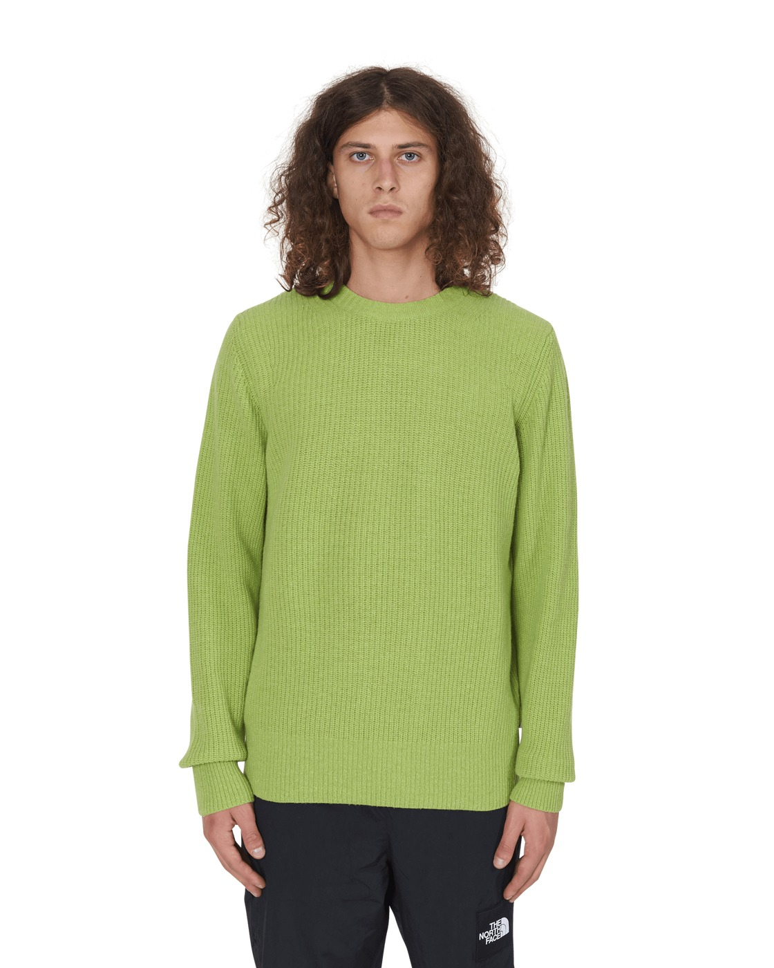 Photo: Wood Wood Falcon Sweater Bright Green