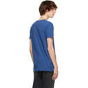 Ksubi Blue Distressed Seeing Lines T-Shirt