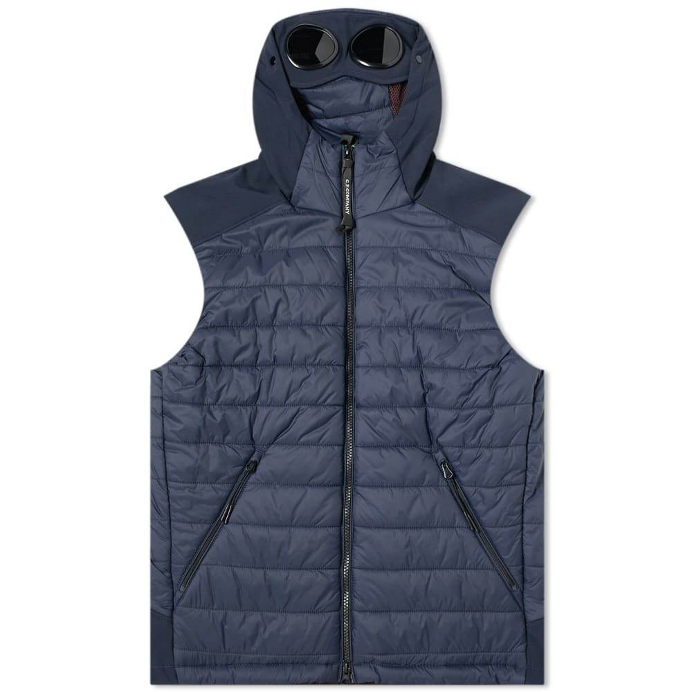 Photo: C.P. Company Hooded Goggle Gilet