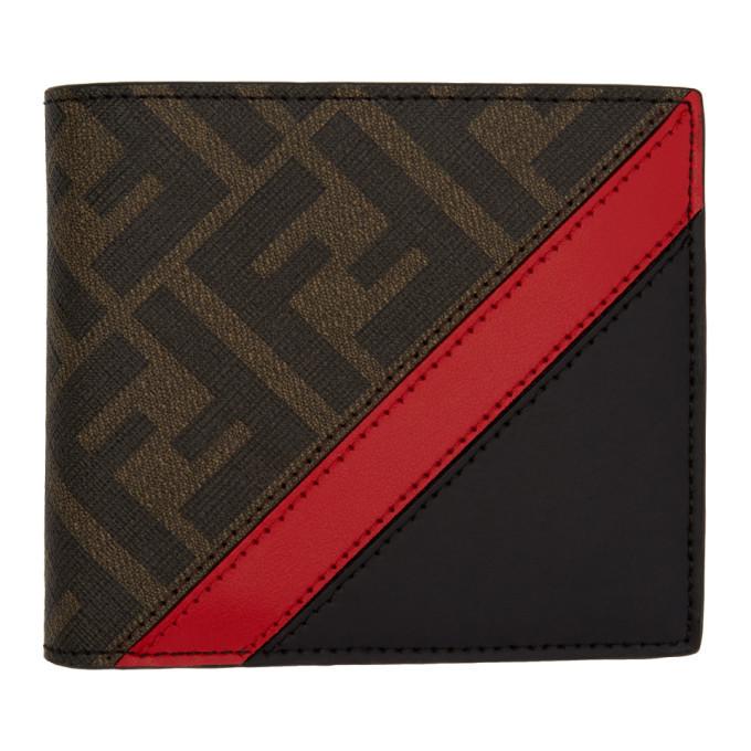 Photo: Fendi Black and Red Forever Fendi Bifold Wallet