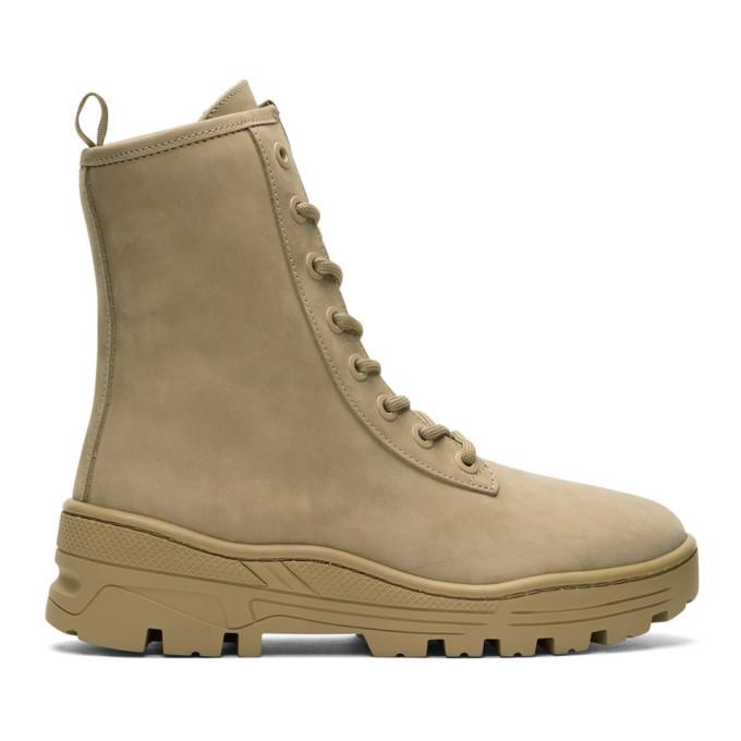 Photo: YEEZY Taupe Nubuck Military Boots