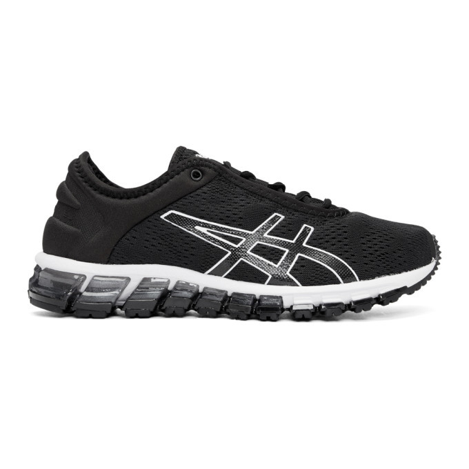 Photo: Asics Black and White Gel-Quantum 180 3 Sneakers