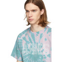 Aries Pink and Green Tie-Dye Go Your Own Way T-Shirt