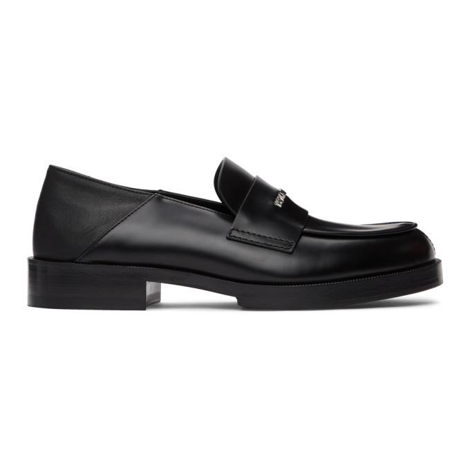 Photo: 1017 ALYX 9SM Black Slip-On Loafers