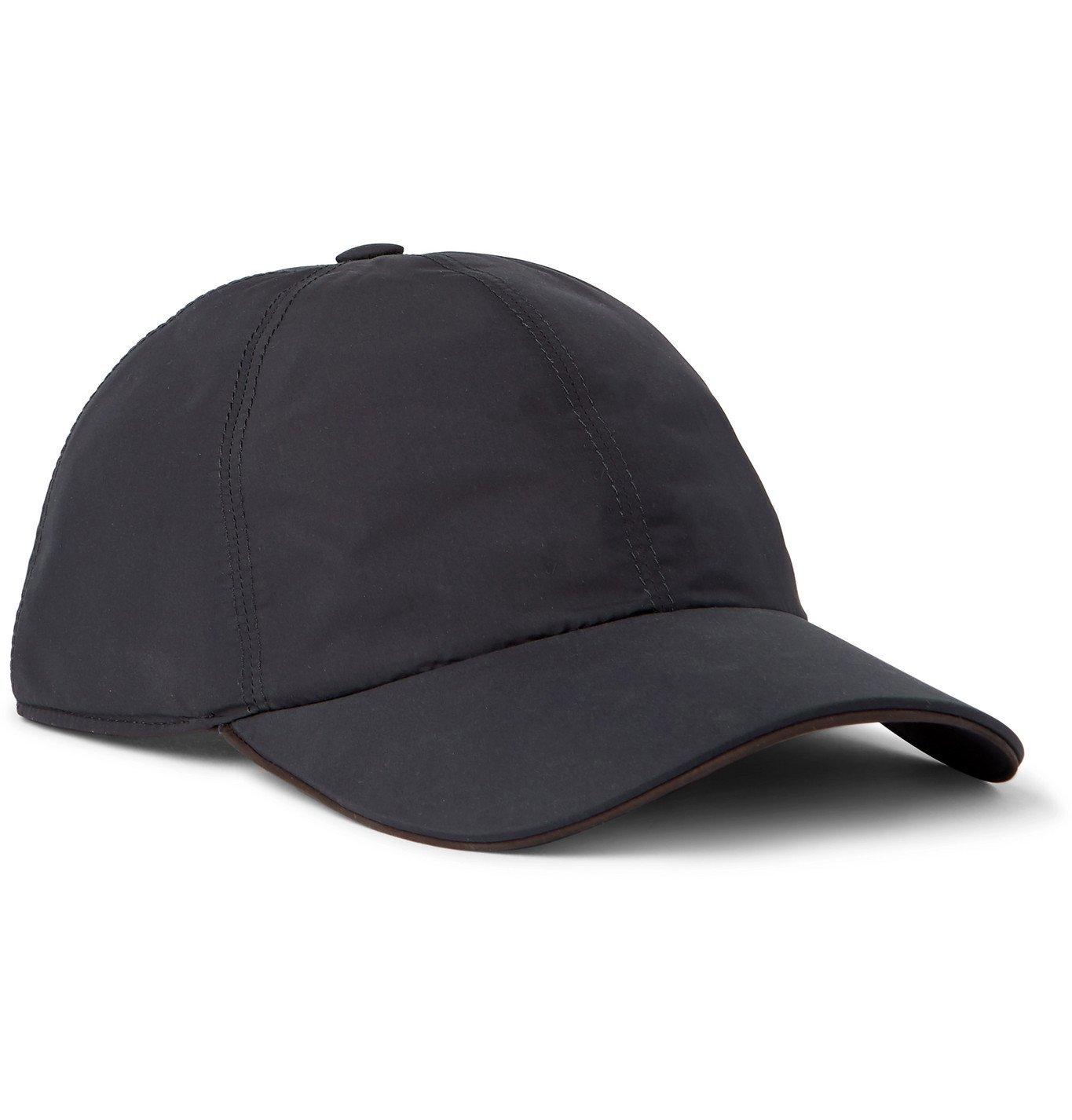 Ermenegildo Zegna - Logo-Appliquéd Shell Baseball Cap - Blue