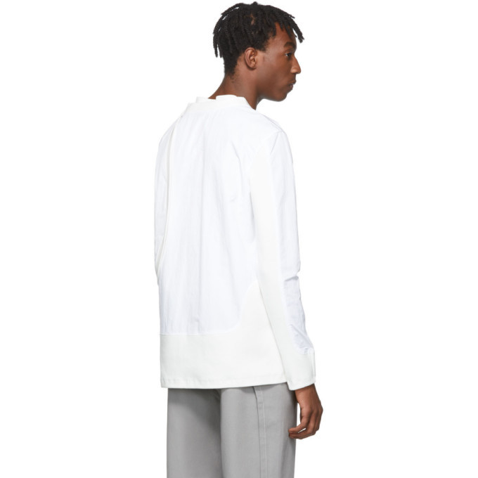 Post Archive Faction PAF White 2.0 Center Long Sleeve T-Shirt