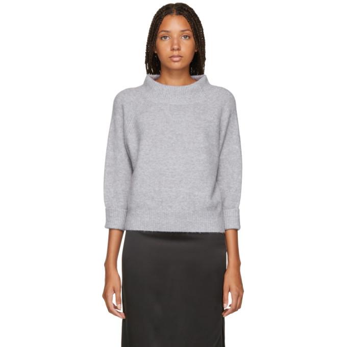 3.1 Phillip Lim Purple 3/4 Lofty Sweater