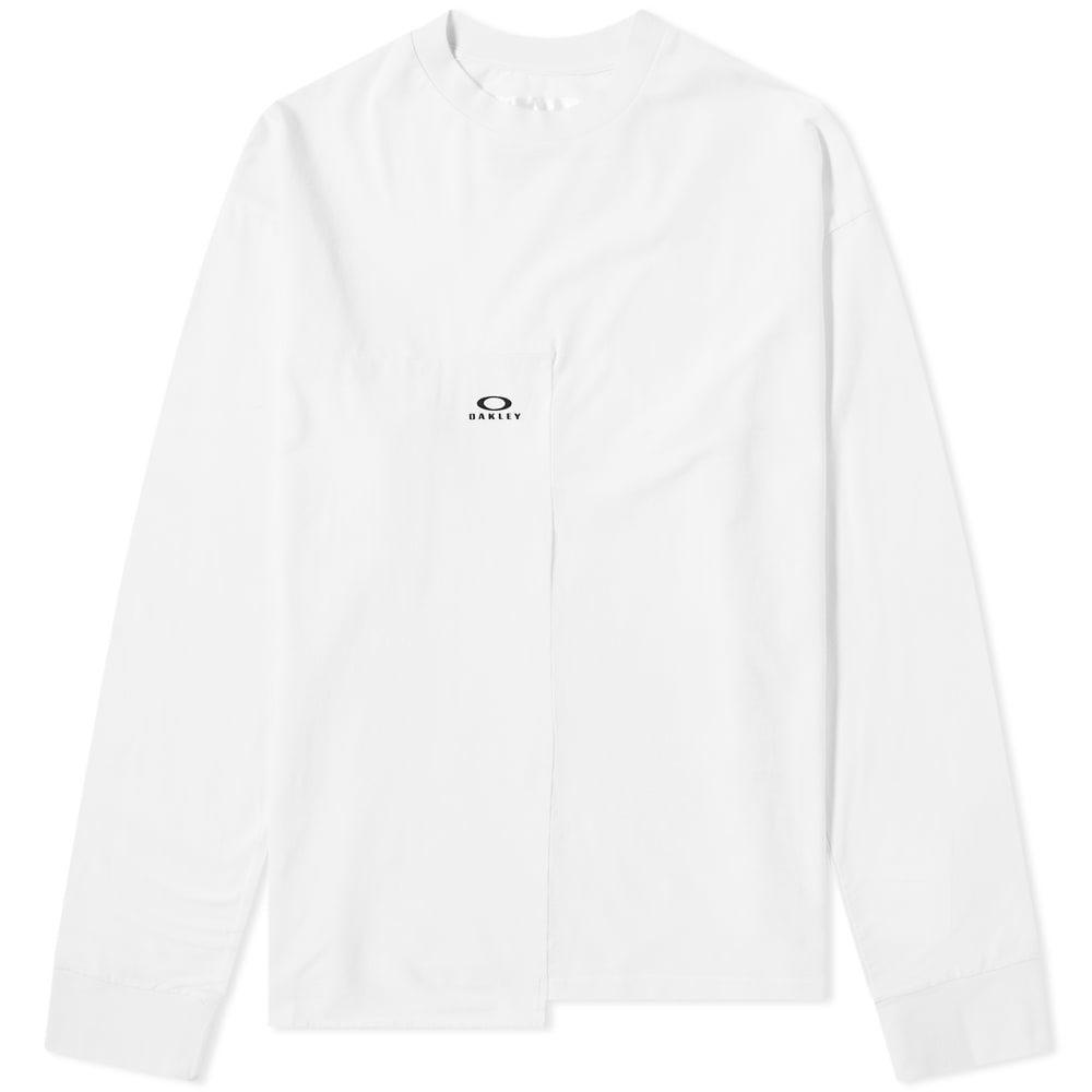Photo: Oakley x Samuel Ross Long Sleeve Cut & Sew Logo Tee White
