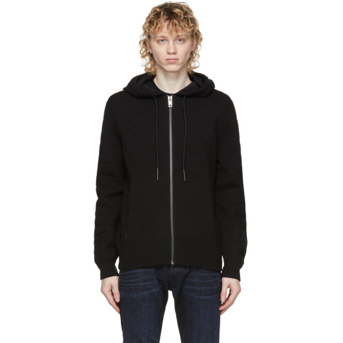 Photo: Diesel Black K-Alaman Zip-Up Hoodie