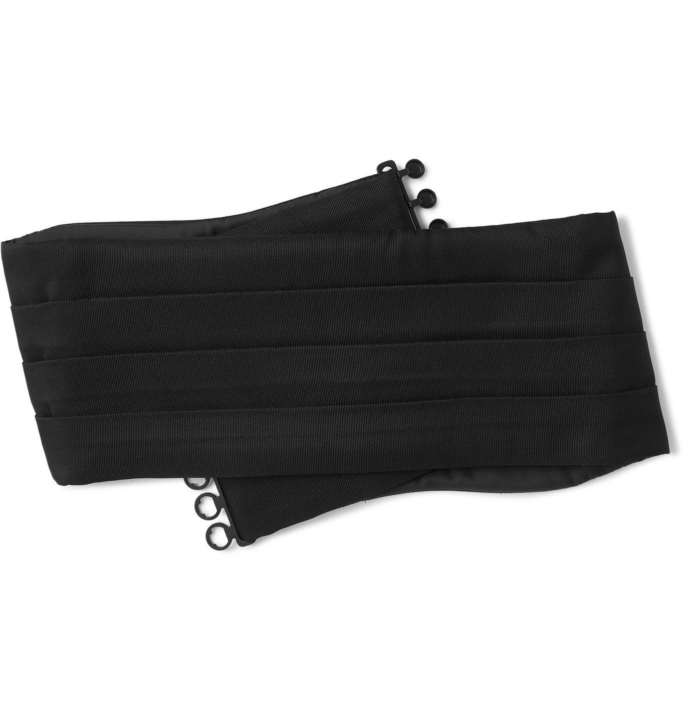 Photo: Favourbrook - Silk-Twill Cummerbund - Black