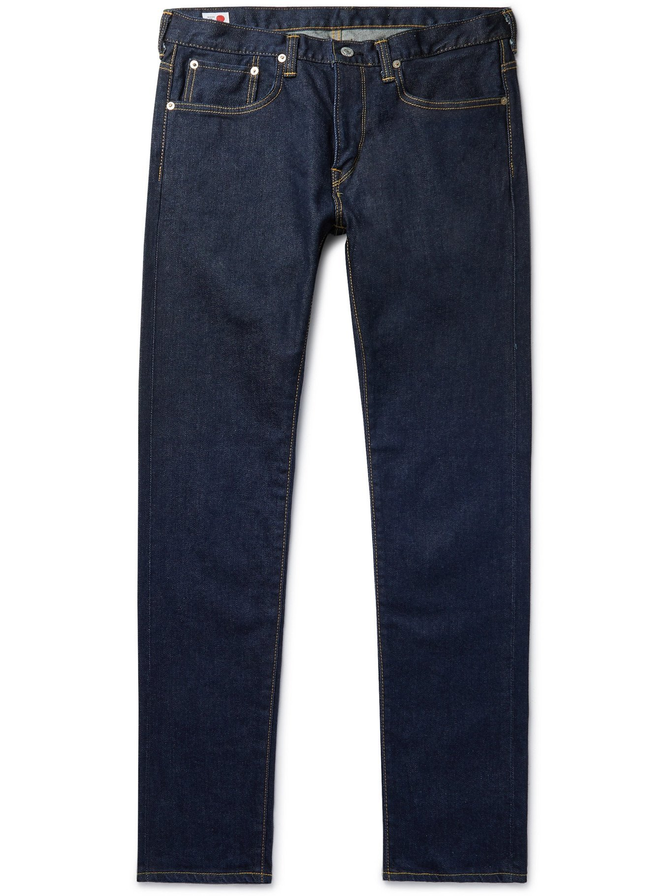 Photo: EDWIN - Slim-Fit Tapered Stretch-Denim Jeans - Blue