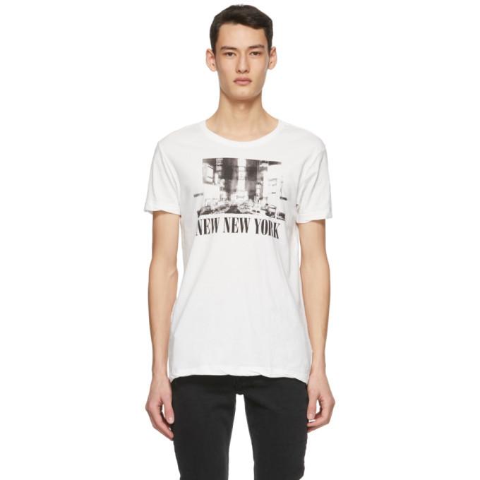 Ksubi Off-White New NYC T-Shirt