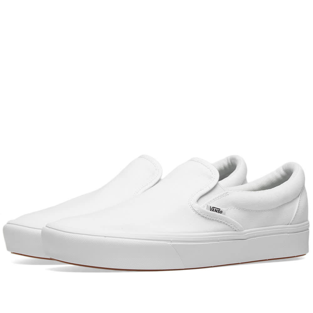Photo: Vans UA ComfyCush Slip On True White
