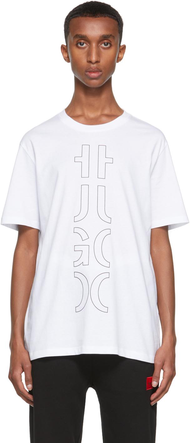 Photo: Hugo White Darlon213 T-Shirt