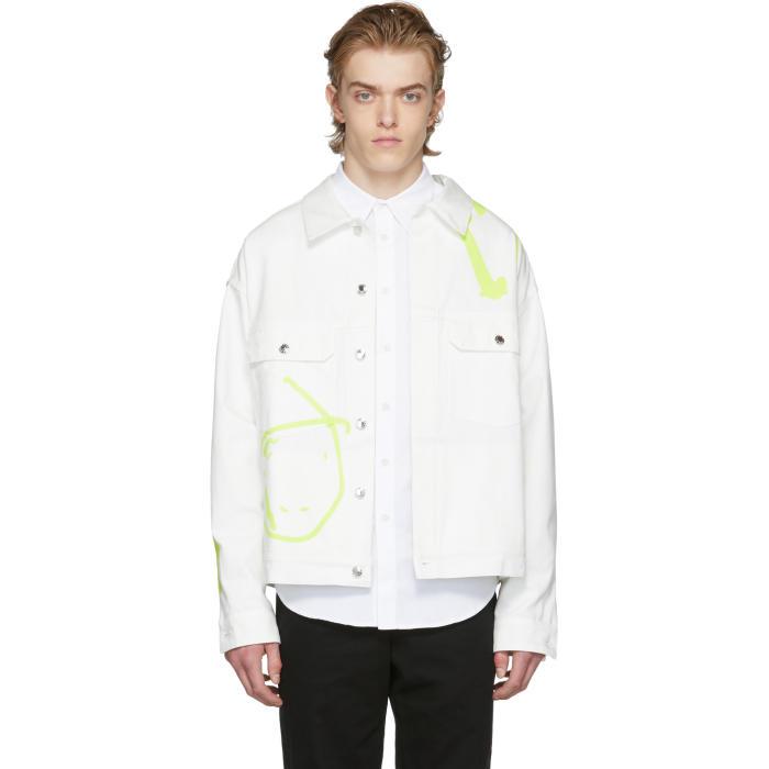 Photo: Rochambeau White Denim Short Jacket