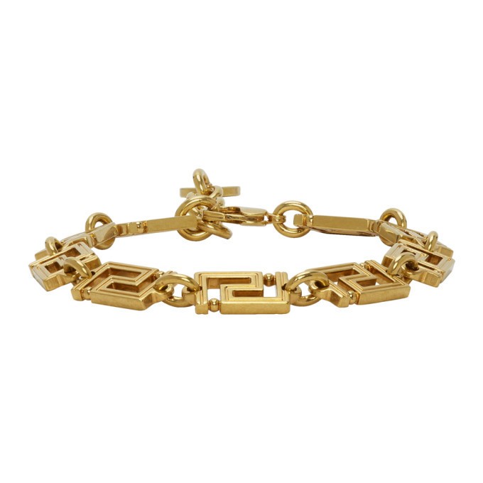 Photo: Versace Gold Greta Empire Bracelet