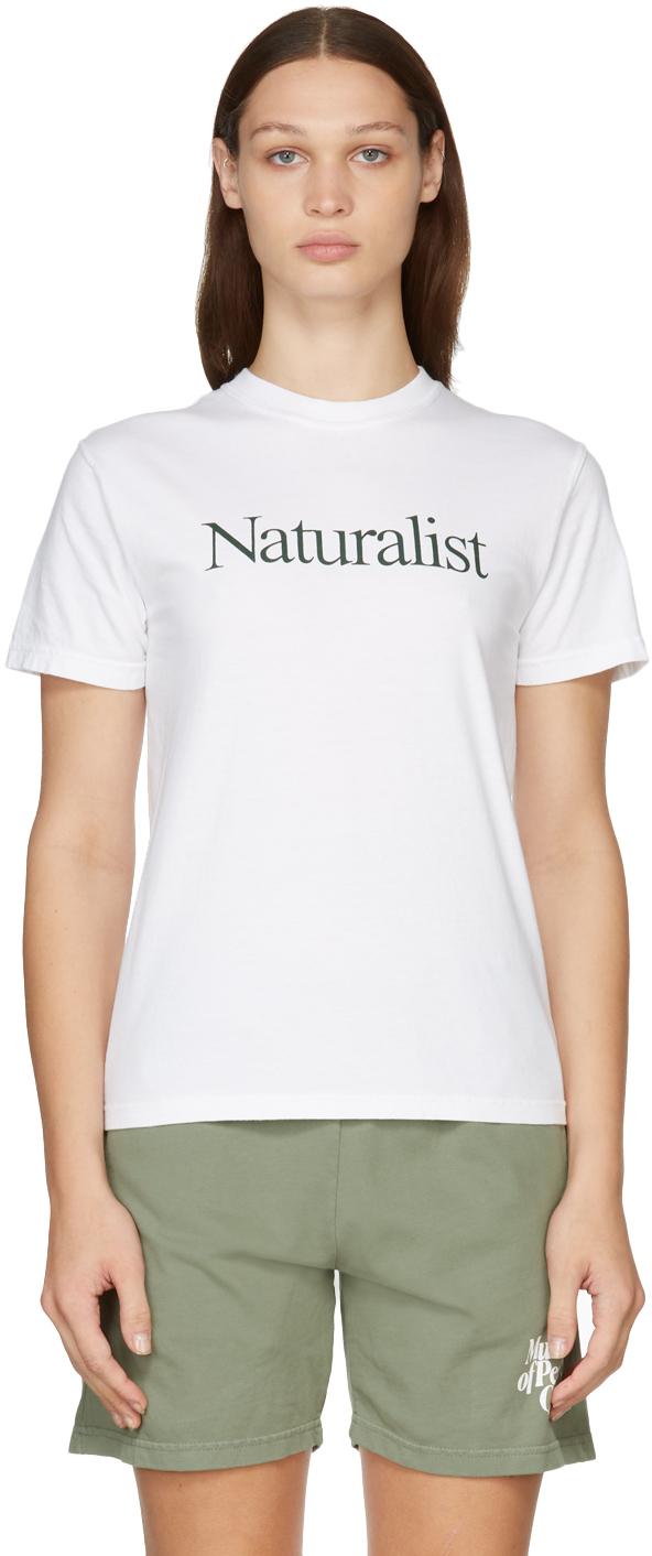 Photo: Museum of Peace & Quiet White 'Naturalist' T-Shirt