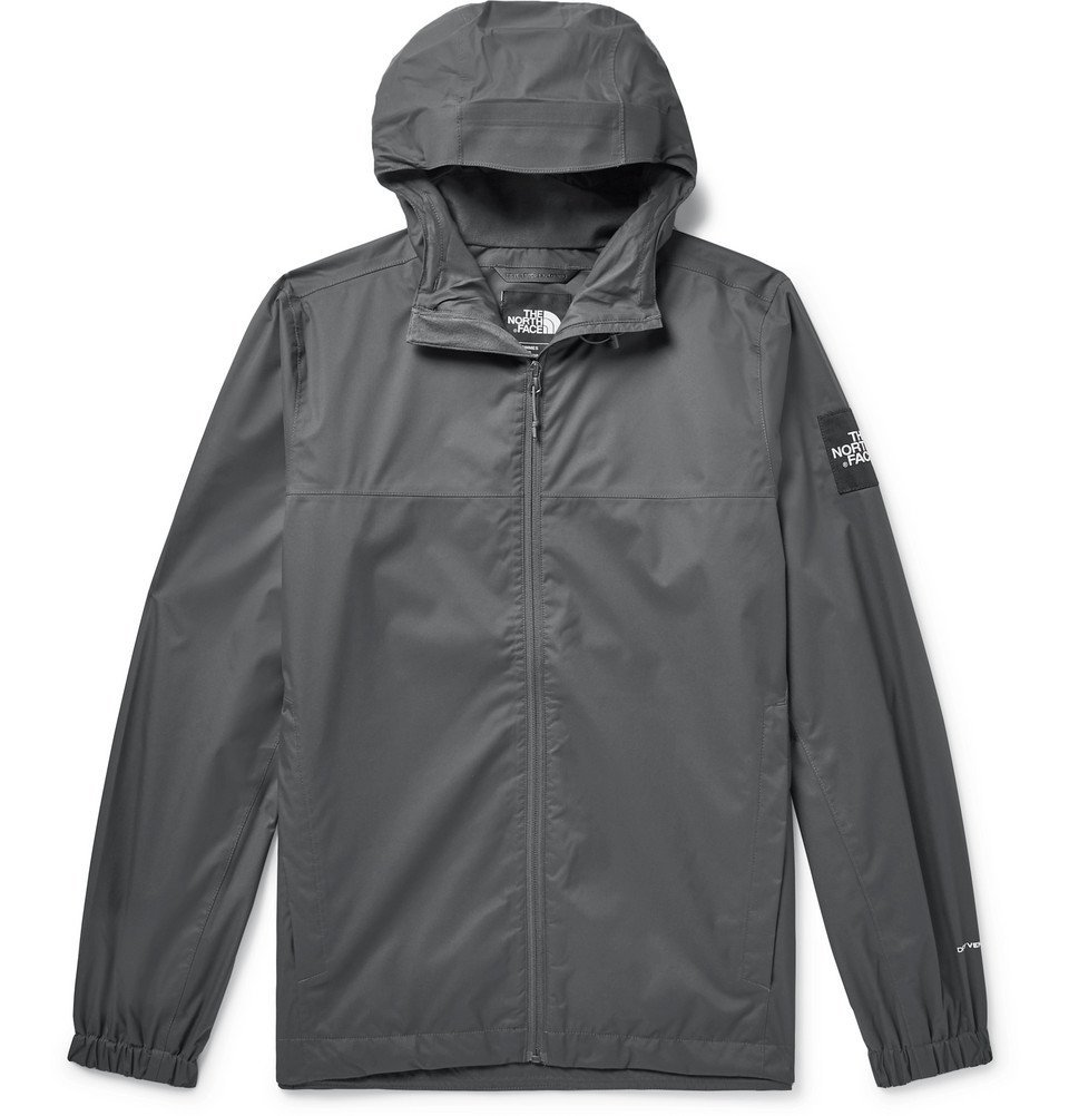 Photo: The North Face - Mountain Q DryVent Hooded Jacket - Men - Charcoal