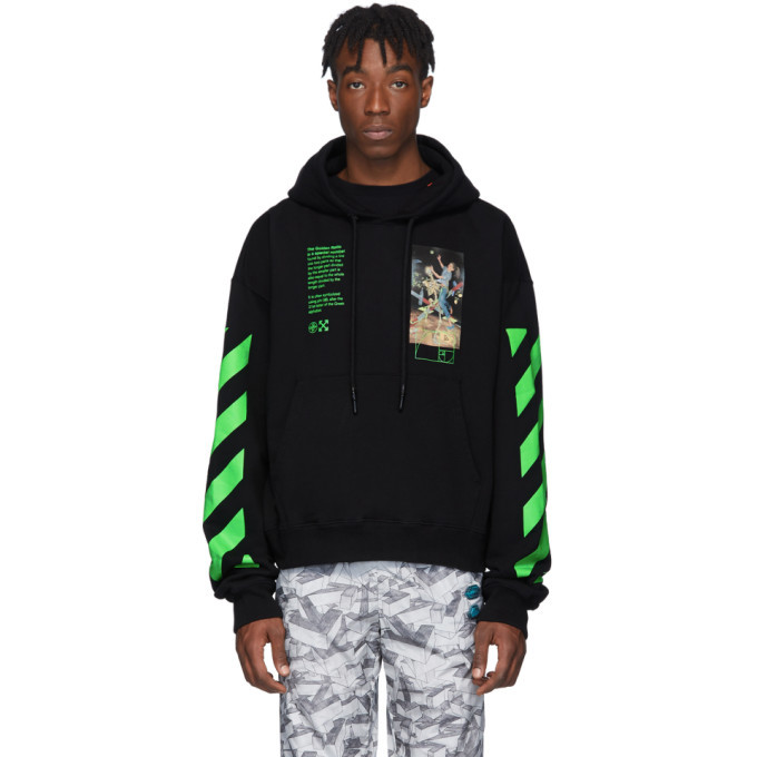 Photo: Off-White Black Pascal Painting Hoodie