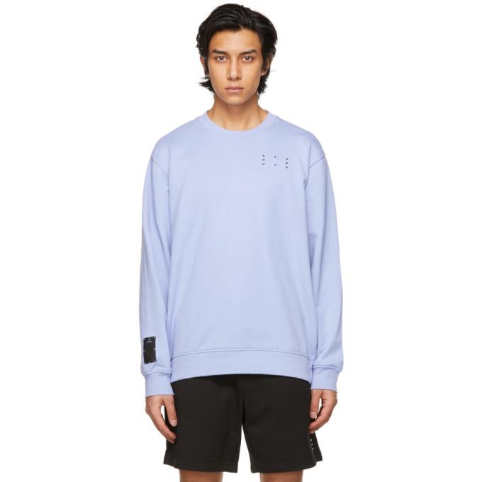 MCQ Purple Jack Branded Sweatshirt