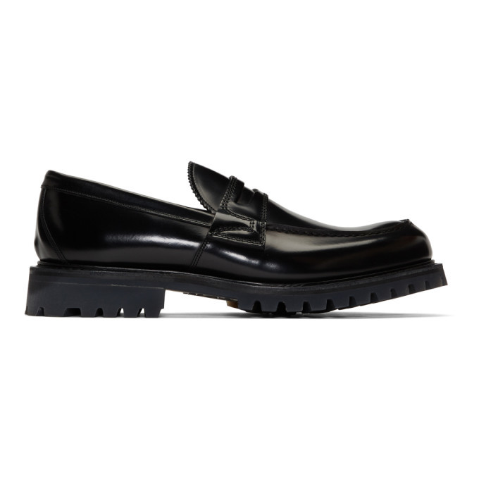 Photo: Churchs Black Capstone Loafers