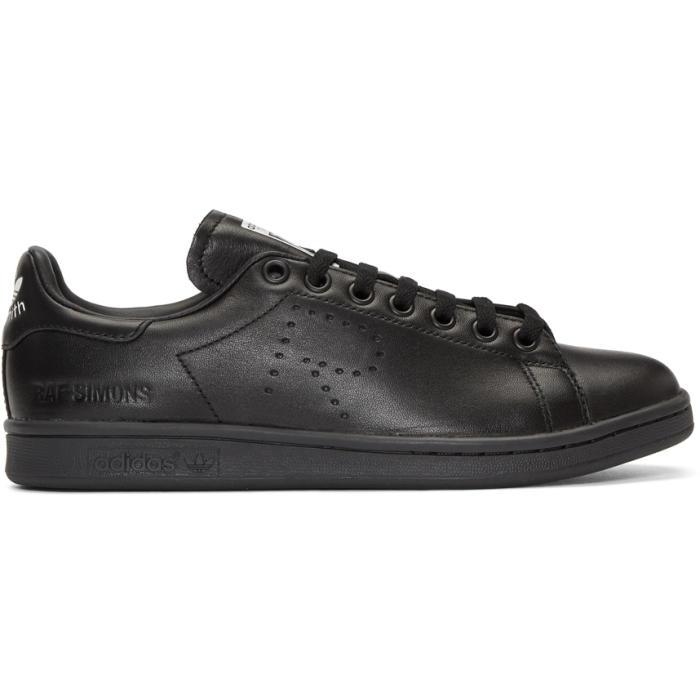 Raf Simons Black adidas Originals Edition Stan Smith Sneakers