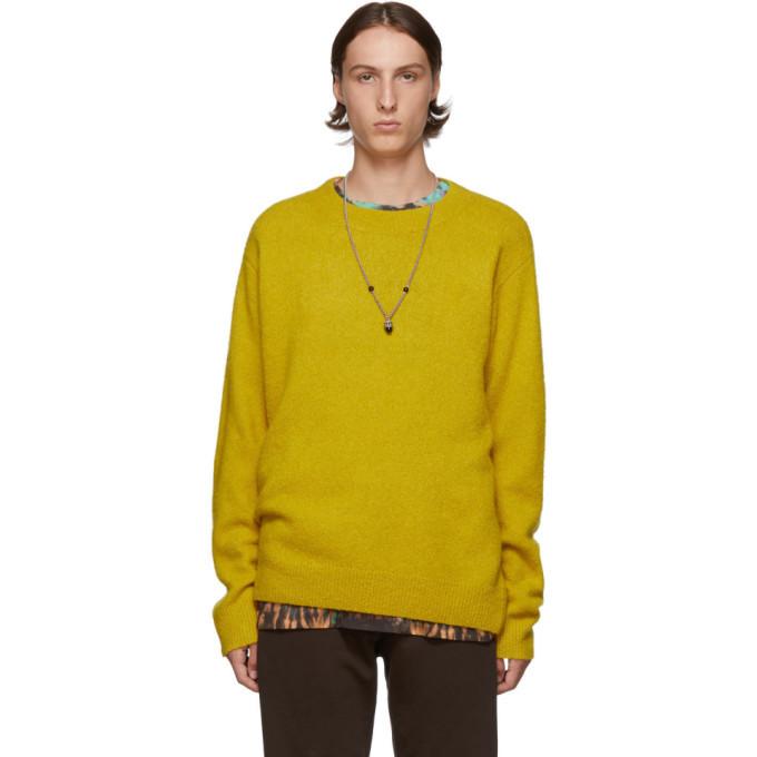 Photo: Dries Van Noten Yellow Tim Sweater