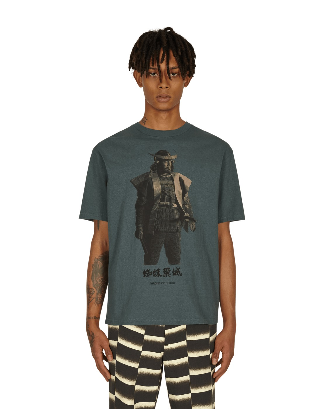 Photo: Undercover Throne Of Blood Samurai T Shirt Khaki