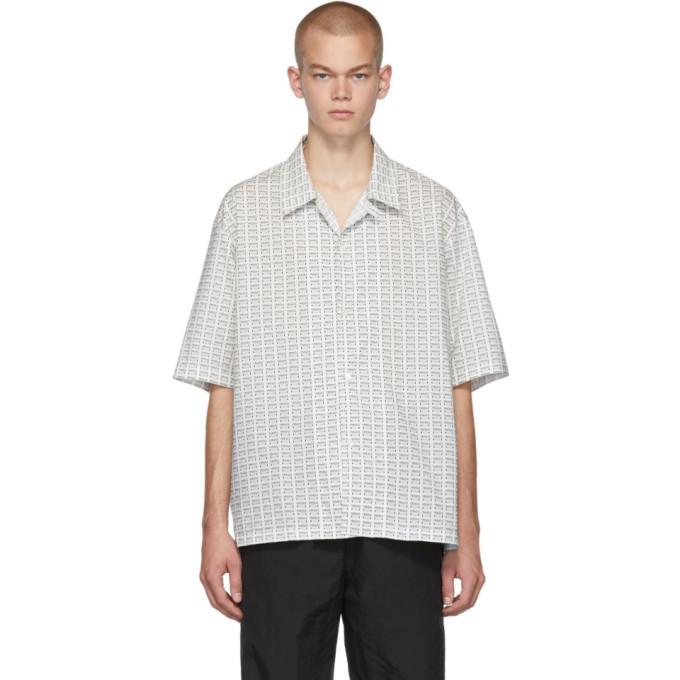 Photo: Maison Margiela White Fragile Short Sleeve Shirt