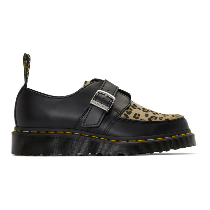 Photo: Dr. Martens Black and Tan Ramsey Monk Derbys