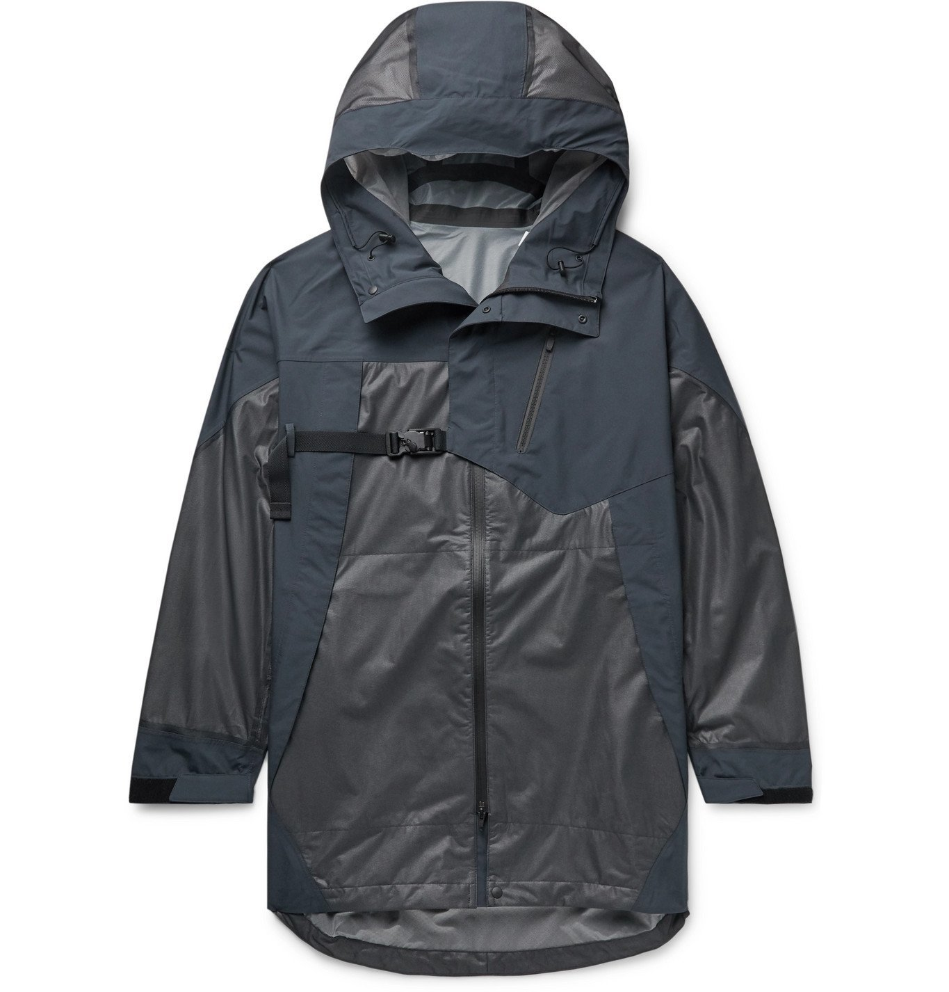 Photo: Y-3 - CH1 Terrex Oversized Panelled Nylon Hooded Parka - Gray