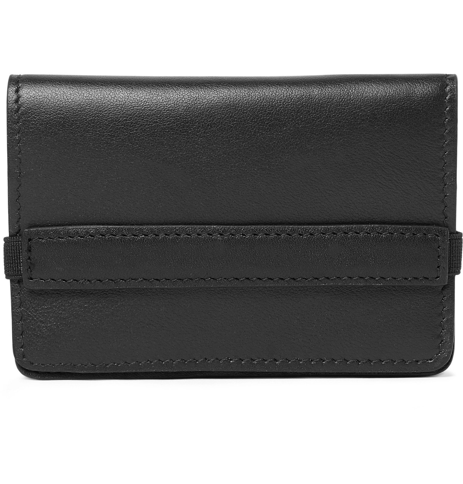 Photo: Common Projects - Logo-Print Leather Wallet - Black