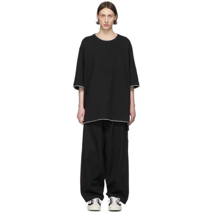 Photo: Y-3 Black Workwear Short Sleeve T-Shirt