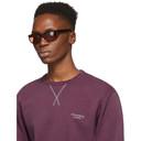 Acne Studios Black and Red Lou Sunglasses