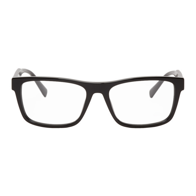 Photo: Versace Black Square 90S Vintage Logo Glasses