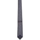 Giorgio Armani Navy Jacquard Stripe Logo Tie