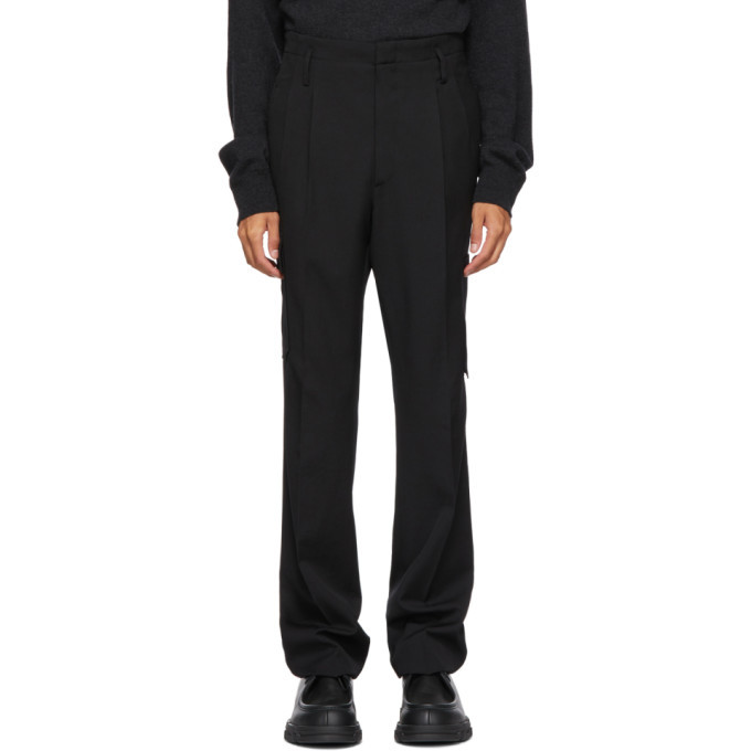 Photo: Lanvin Black Side Pocket Trousers