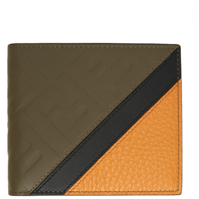 Photo: Fendi Brown Leather Forever Fendi Bifold Wallet