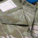 Sacai - SUN SURF Diamond Head Camp-Collar Velvet-Trimmed Printed Voile Shirt - Green