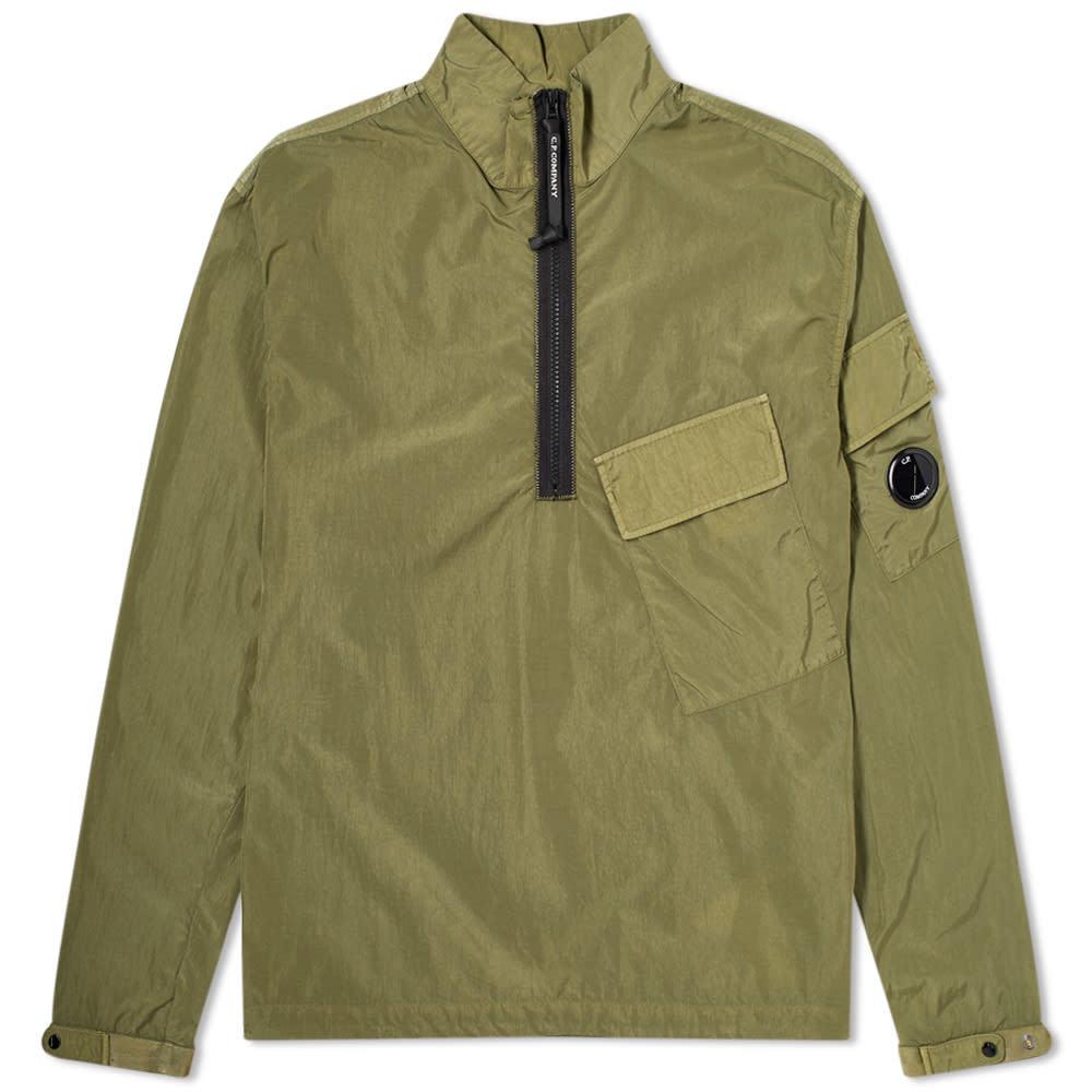 C.P. Company Quarter Zip Nylon Overshirt