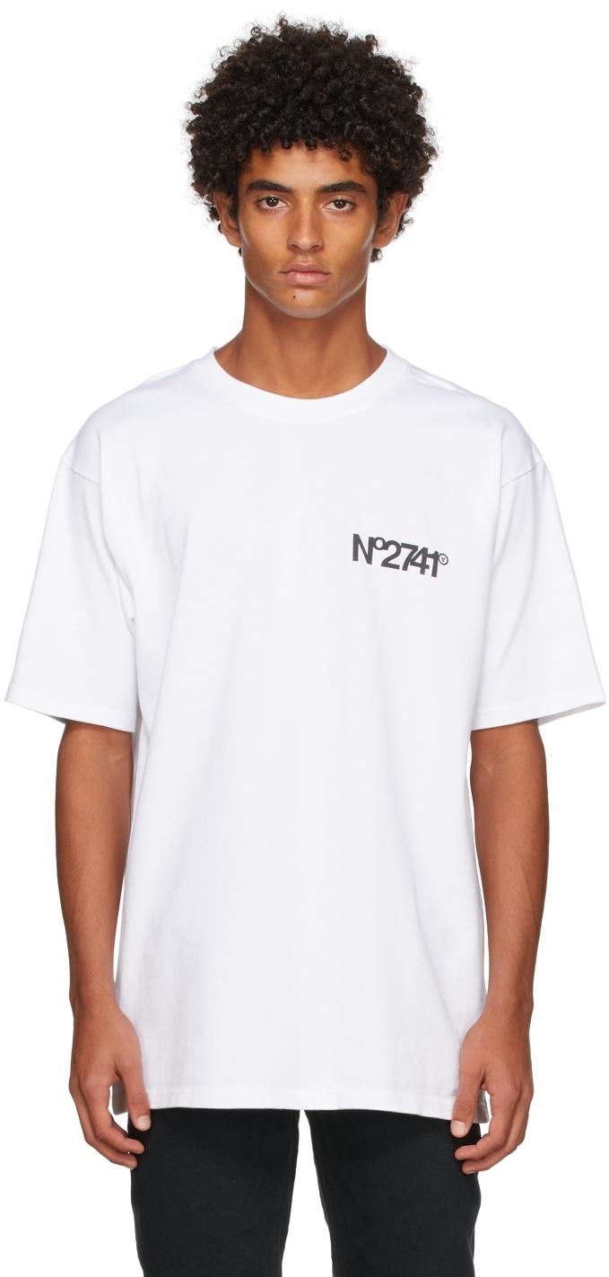 Photo: Aitor Throup's TheDSA White 'No2741' T-Shirt