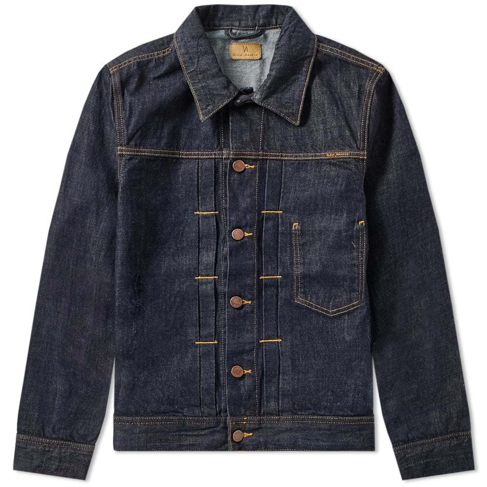 Photo: Nudie Sonny Denim Jacket Rinse Blue