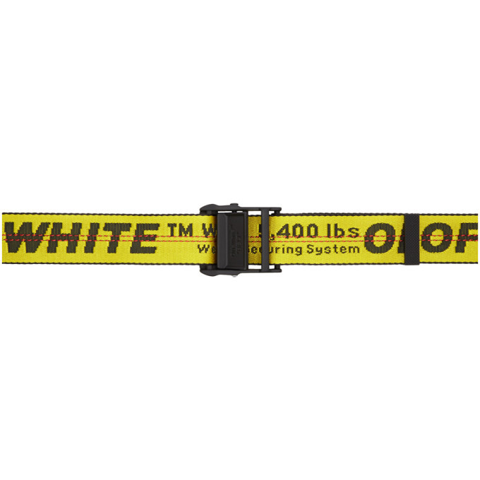 Photo: Off-White Yellow Industrial Belt