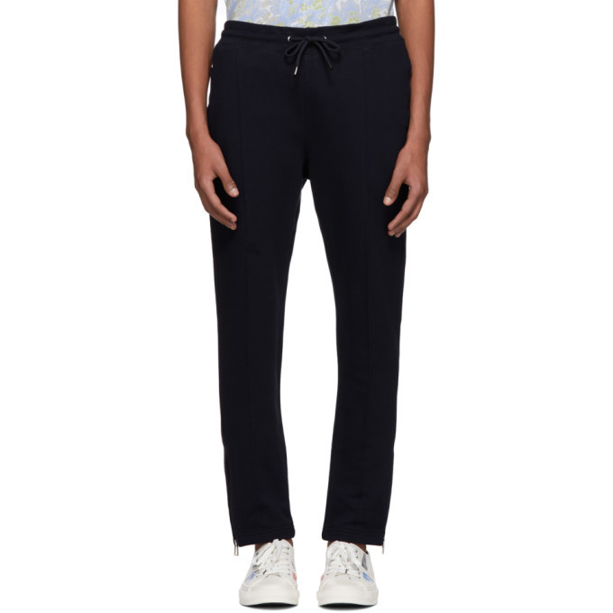 Photo: PS by Paul Smith Navy Pinched Seams Lounge Pants