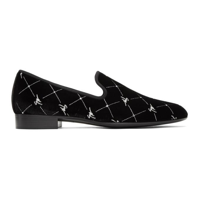 Photo: Giuseppe Zanotti Black Veronica Cut Loafers