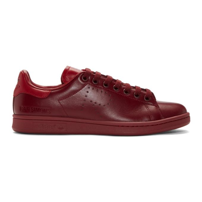 Photo: Raf Simons Red adidas Originals Edition Stan Smith Sneakers